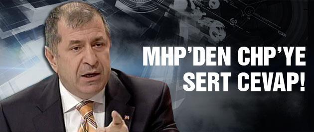 MHP'den CHP'ye sert yanıt!