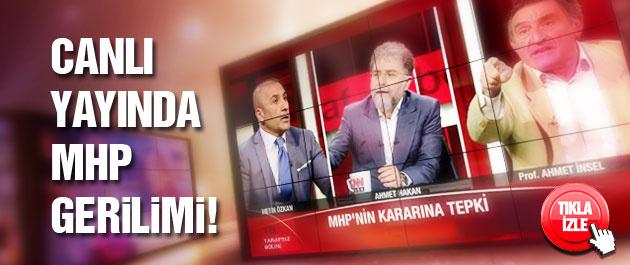 Bahçeli'nin danışmanıyla canlı yayında MHP gerilimi!