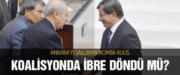 İki parti koalisyon için anlaştı mı? Bomba kulis