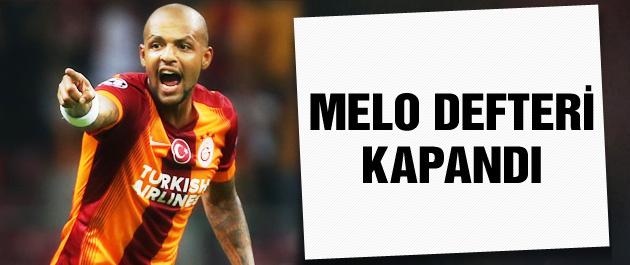 Galatasaray'da Melo defteri kapandı