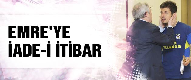 Fenerbahçe'den Emre'ye özel tören