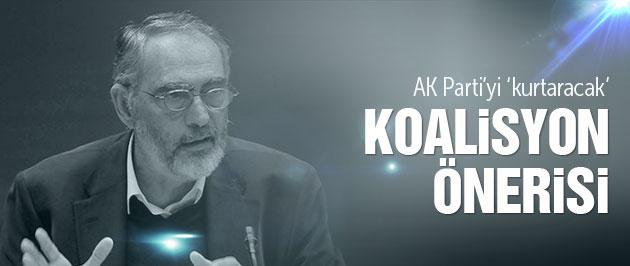 Mahçupyan'dan 'AK Parti CHP koalisyonu' önerisi
