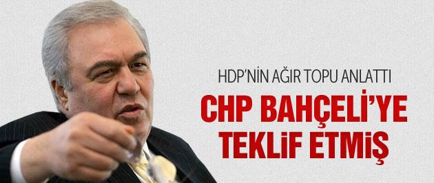 HDP'nin ağır topundan MHP yorumu!