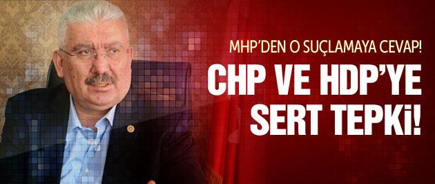 MHP'den CHP ve HDP tepkisi: Kendi kendilerine...