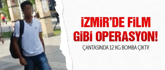 İzmir'de PKK operasyonu! 12 kg bombayla yakalandı!