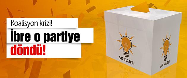 AK Parti'de koalisyon krizi! İbre o partiye döndü!