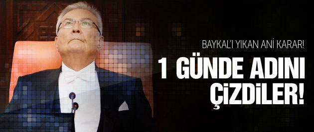 MHP Baykal'ı bir günde silmiş! Bomba kulis!