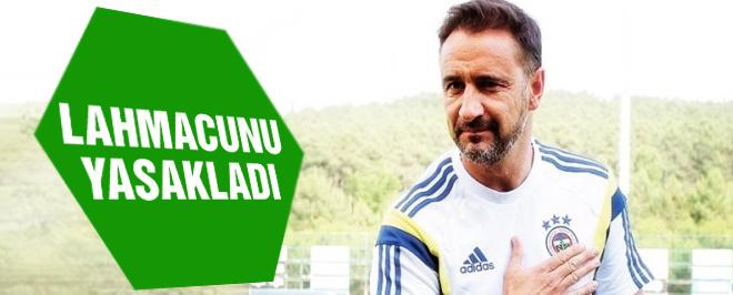 Fenerbahçe'nin hocasından lahmacun yasağı