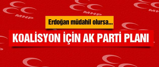 MHP'nin koalisyon için AK Parti planı