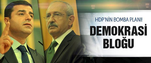 HDP'nin erken seçim planı Bomba 'Demokrasi Bloğu' iddiası