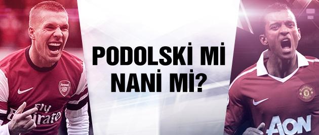 Luis Nani mi? Lukas Podolski mi?