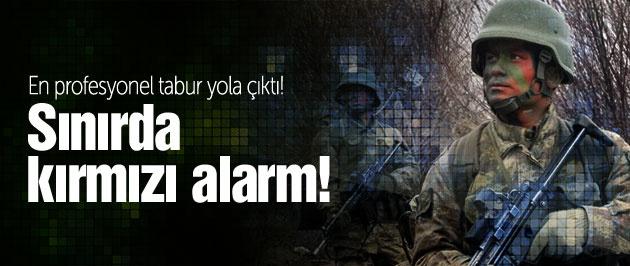 Suriye sınırında kırmızı alarm Tunceli'den asker gitti!