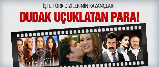 İşte en çok kazanan Türk dizilerinin cirosu!