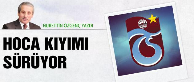 Trabzonspor'a hoca dayanmıyor