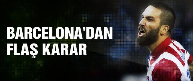Barcelona'da Arda Turan zirvesi