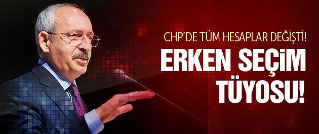 Kılıçdaroğlu'na kurmaylarına erken seçim tüyosu!