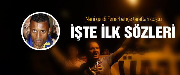 Ve Luis Nani İstanbul'da!