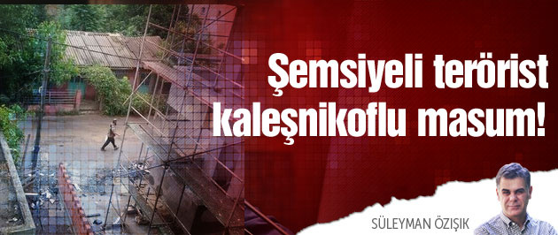 İstanbul'da şemsiyeli IŞİD'ci dehşeti!