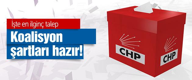 CHP'nin koalisyon şartları hazır! İşte en ilginç talep