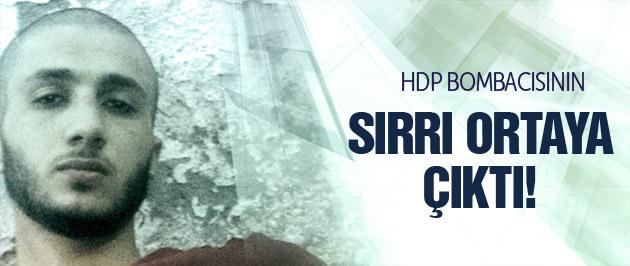 HDP bombacısının sırrı ortaya çıktı!