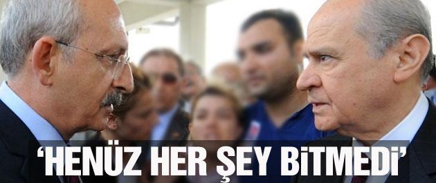 Kılıçdaroğlu'ndan MHP'ye ısrarlı koalisyon çağrısı