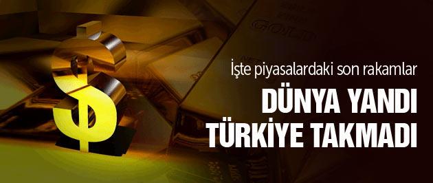 Türkiye piyasaları Yunanı'ı takmadı!