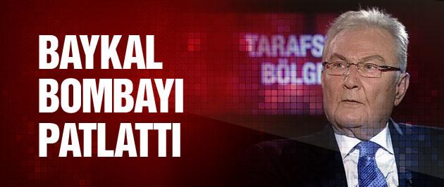 Baykal MHP bombasını patlattı!