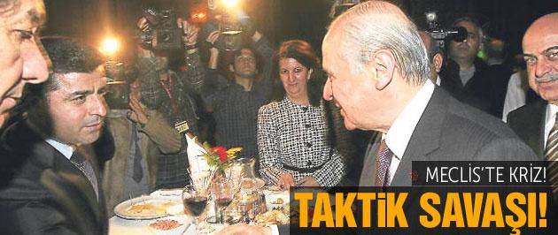 MHP ve HDP'den Başkanlık Divanı için taktik savaşı