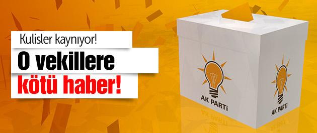 AK Parti kulisleri kaynıyor! O vekillere kötü haber