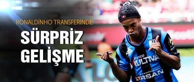 Ronaldinho transferinde flaş gelişme