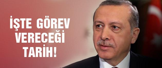 Erdoğan'ın görev vereceği tarih belli oldu!
