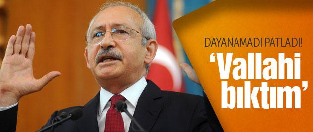 Kılıçdaroğlu'ndan Meclis Başkanı açıklaması 'Vallahi bıktım'