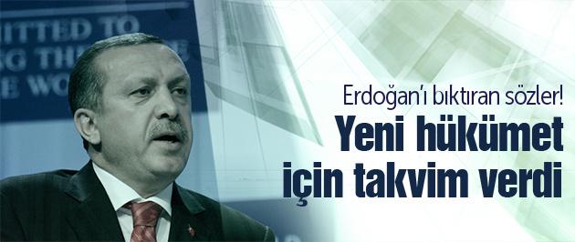 Erdoğan Saray eleştirilerinden bıktı!