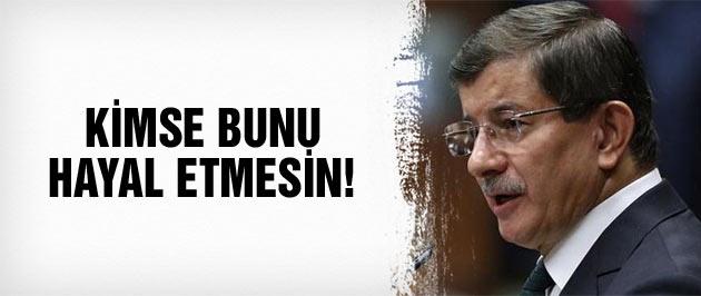 Davutoğlu'ndan son dakika açıklamalar