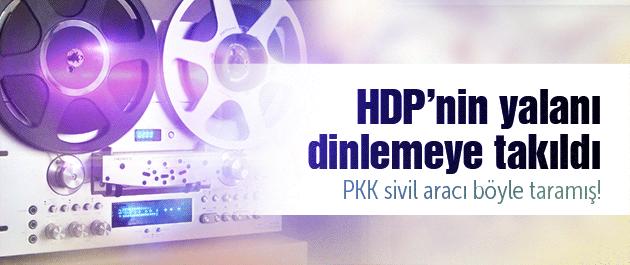 HDP'nin Ardahan yalanı ortaya çıktı