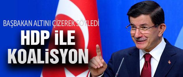 HDP görüşmesi sonrası Davutoğlu'ndan flaş açıklama!