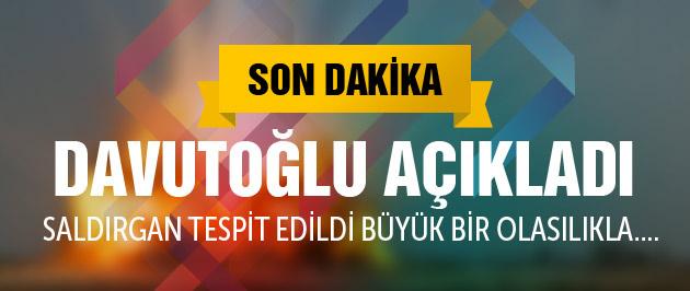 Davutoğlu Suruç saldırısı yeni açıklama