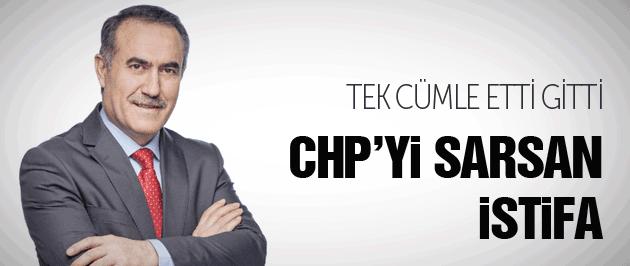 CHP'de istifa İhsan Özkes tek cümle etti gitti