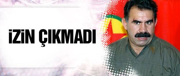 Öcalan'ın avukatlarına görüşme izni çıkmadı