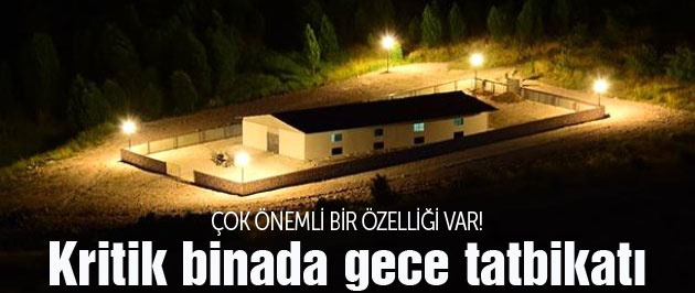IŞİD operasyonu için kritik bina! TSK tatbikat yaptı