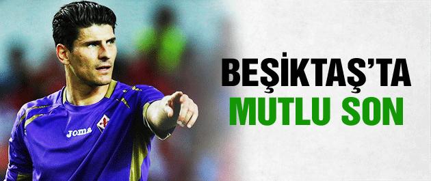 Beşiktaş Mario Gomez'i bitirdi
