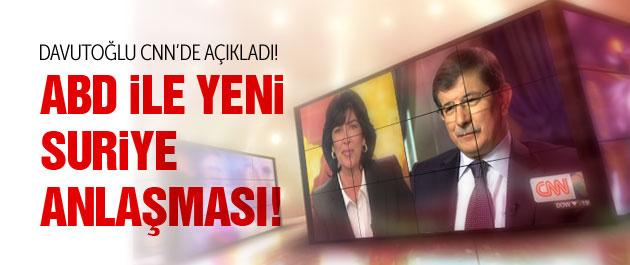 Davutoğlu'ndan CNN'de flaş açıklamalar!