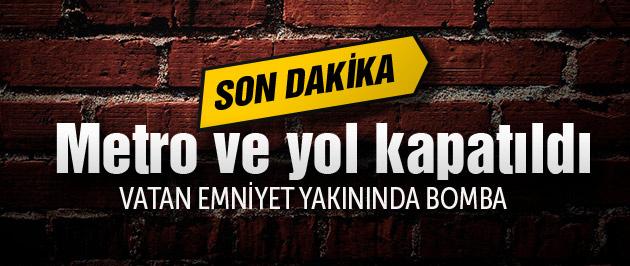 İstanbul Emniyet Müdürlüğü yakınında bomba!