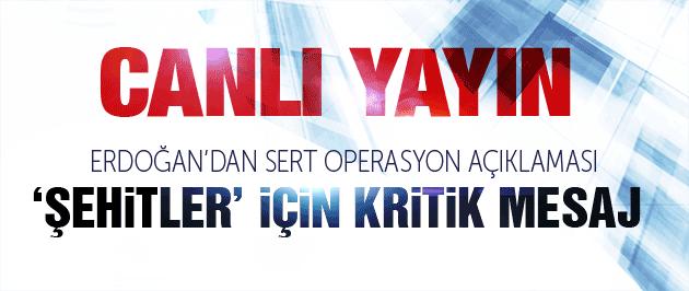 Erdoğan'dan kritik 'terör operasyonları' açıklaması