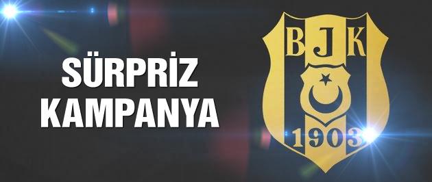 Beşiktaş'tan sürpriz forma kampanyası