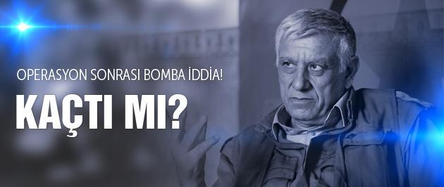 PKK operasyonunda şok iddia Cemil Bayık kaçtı mı?