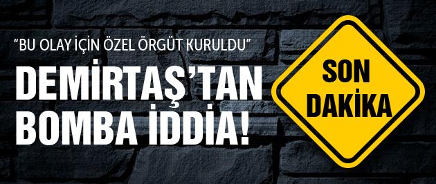 Demirtaş'tan bomba iddia Suruç katliamını...