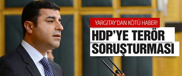 Yargıtay'dan HDP'ye flaş terör soruşturması