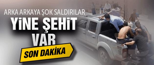 Hakkari'de silahlı saldırı Piyade Astsubay şehit oldu