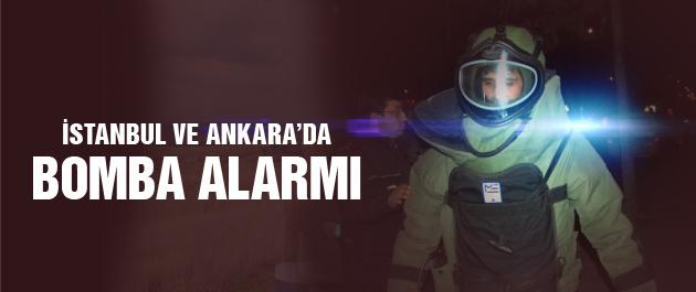 İstanbul ve Ankara'da bomba alarmı